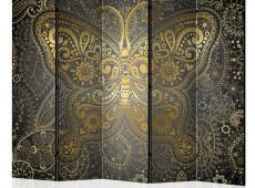 Paraván - Golden Butterfly II [Room Dividers]